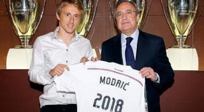 «Βασιλιάς» μέχρι το 2018 ο Μόντριτς