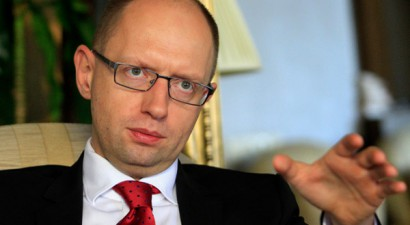 Ο Γιατσενιούκ θέλει να βάλει την Ουκρανία στο ΝΑΤΟ