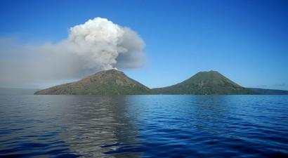 Έκρηξη ηφαιστείου στην Παπούα Νέα Γουινέα