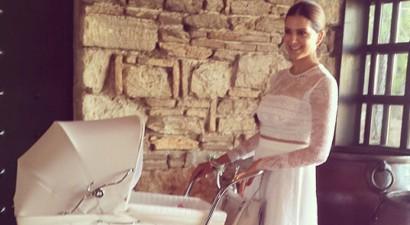 Βάφτισε τις κορούλες της η Σταματίνα Τσιμτσιλή