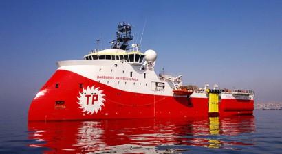 Το τουρκικό σκάφος «Barbaros» εισήλθε στην κυπριακή ΑΟΖ