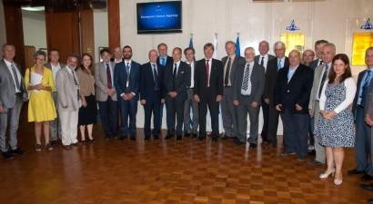 Eπίσημη επίσκεψη του Ευρωπαϊκού Οργανισμού Διαστήματος στην EAB
