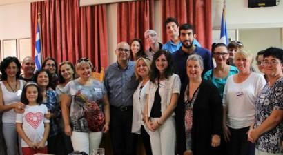 Ο δήμαρχος Χανίων υποδέχθηκε εκπαιδευτικούς από δέκα χώρες