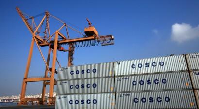 Αυξημένα κατά 21,9% τα κέρδη της Cosco στον Πειραιά