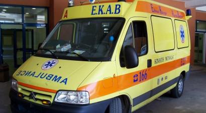 Δύο τραυματίες από ανατροπή αυτοκινήτου