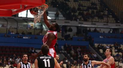 Εύκολα ο Ολυμπιακός τον ΠΑΟΚ στο μπάσκετ