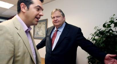 Συνάντηση Βενιζέλου - Τσίπρα για τα εθνικά θέματα