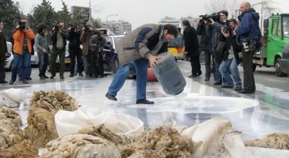 Κάθοδος κτηνοτρόφων στην Αθήνα