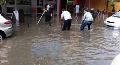 """Στο """"κόκκινο"""" 32 περιοχές της Ελλάδας  που κινδυνεύουν από πλημμύρες"""