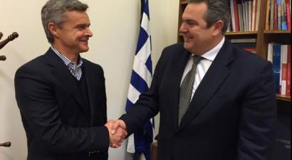 Μέλος των Ανεξάρτητων Ελλήνων ο Κριστόφ Βαζέχα