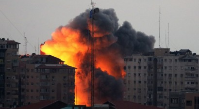 Ισραηλινή αεροπορική επιδρομή μετά την εκτόξευση ρουκέτας