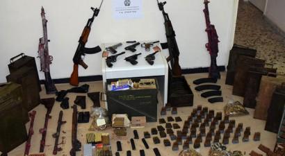 Αρεόπολη: 63χρονος είχε μετατρέψει μαντρί σε μίνι... οπλοστάσιο
