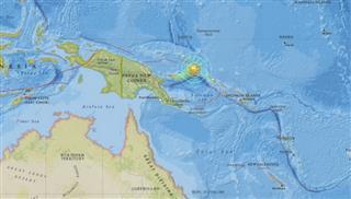 Ισχυρός σεισμός 7,7 Ρίχτερ στην Παπούα Νέα Γουινέα