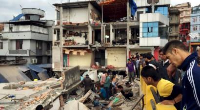 1 εκατ. παιδιά έχουν πληγεί από τον φονικό σεισμό του Νεπάλ