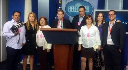 ΗΠΑ: Κουβανοί δημοσιογράφοι για πρώτη φορά στον Λευκό Οίκο