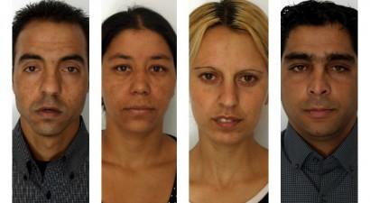 Ιδού οι 4 Ρομά που κατηγορούνται για αρπαγή ανηλίκων