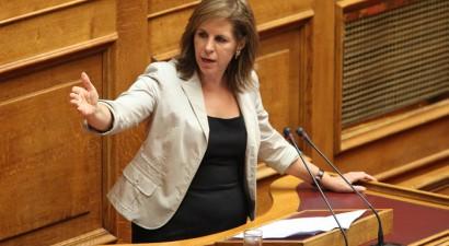 Για υπονόμευση της «Διαύγειας» κατηγόρησε την κυβέρνηση η Εύη Χριστοφιλοπούλου