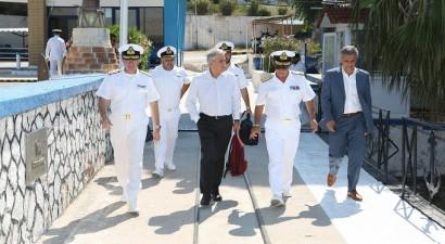 Επίσκεψη Τόσκα στο Αρχηγείο Στόλου