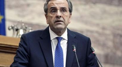 Παραιτήθηκε από πρόεδρος της ΝΔ ο Αντώνης Σαμαράς