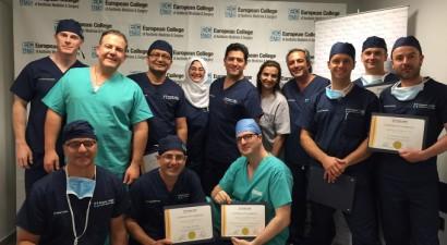 Διοργάνωση ECAMS Διεθνούς Master Course από το ABH Medical Group!