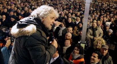 Έρχεται Αθήνα ο Μπέπε Γκρίλο για να υποστηρίξει το «Όχι»