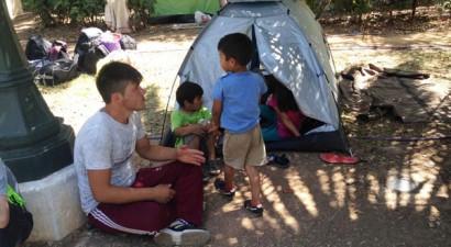 Πεδίο του Άρεως: Ξεκινάει η μετεγκατάσταση των προσφύγων