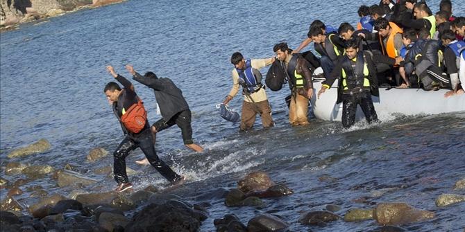 Αποτέλεσμα εικόνας για μετανάστες λέσβος