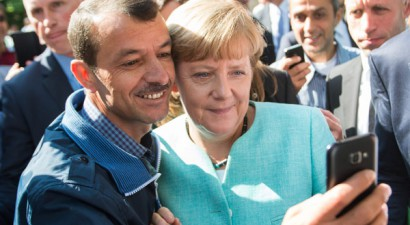 Bild: Φαβορί για το Νόμπελ Ειρήνης η καγκελάριος Μέρκελ