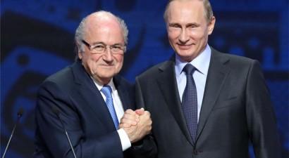 Ο Πούτιν πρότεινε τον Μπλάτερ για το Νόμπελ Ειρήνης!