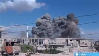H Ρωσία έπληξε δέκα στόχους του Ισλαμικού Κράτους στη δυτική Συρία