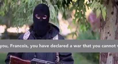 Απειλές ISIS κατά Ολάντ: Θα έρθουμε να συνθλίψουμε την χώρα σου (βίντεο)