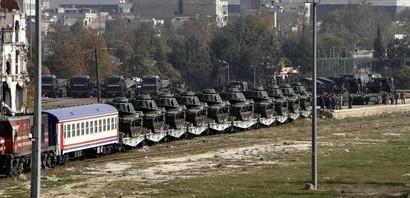 Οι Τούρκοι έστειλαν τανκς στα συροτουρκικά σύνορα