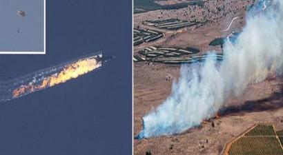 ΗΠΑ: Πάνω από το Συρία χτυπήθηκε το ρωσικό μαχητικό