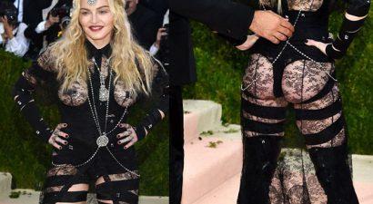 Ξεπέρασε τα όρια η Madonna: Με στρινγκ και όλα φόρα παρτίδα σε δημόσια εμφάνιση (εικόνες+βίντεο)