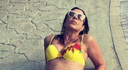 Aρετουσάριστες εικόνες με μαγιό ανάρτησε στο Instagram η Δημητρίου