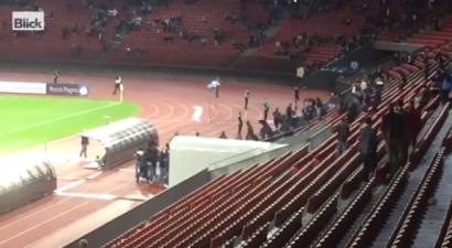Βίντεο: Οπαδοί τα έσπασαν και πήραν στο κυνήγι τους παίκτες της Ζυρίχης