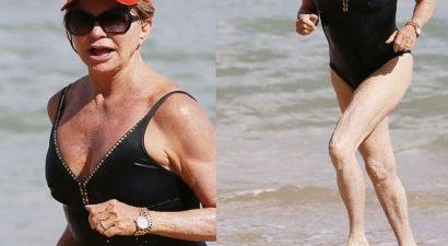 Γκλόντι Χον: Για τα 70 της χρόνια, καλά κρατεί με μαγιό (εικόνες)