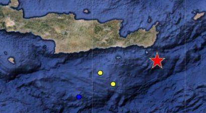 Σεισμός 5,6 Ρίχτερ κούνησε την Κρήτη