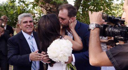Ο παραμυθένιος γάμος της Μαρίνας Ασλάνογλου (εικόνες)
