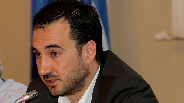 O αναπληρωτής υπουργός Οικονομίας Αλέξης Χαρίτσης