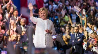Γράφει ιστορία η Χίλαρι - Κι επίσημα υποψήφια των Δημοκρατικών η Χίλαρι Κλίντον