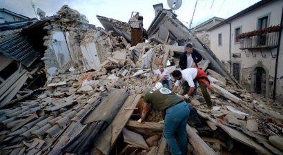 Φονικός σεισμός 6,2 Ρίχτερ στην κεντρική Ιταλία