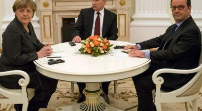Πούτιν, Μέρκελ και Ολάντ θα συναντηθούν για την Ουκρανία