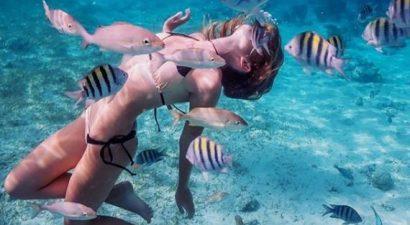 Διάσημη Ελληνίδα βρέθηκε στο βυθό της θάλασσας