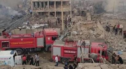 Bομβιστική επίθεση με πολλούς νεκρούς και δεκάδες τραυματίες στη τουρκική πόλη Tσίζρε