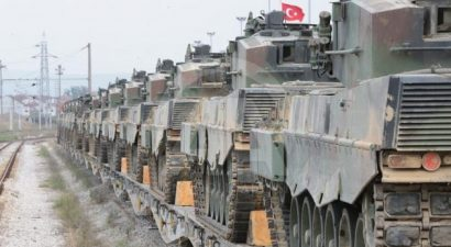 Η Τουρκία ενισχύει τις δυνάμεις της στη Συρία