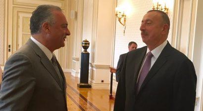 Δύο ημέρες στο Αζερμπαϊτζάν ο Μ. Κεφαλογιάννης(pics)