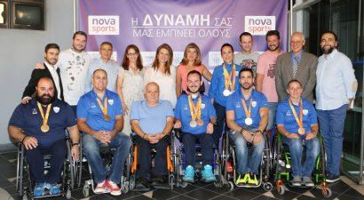 Η Nova δίπλα στους Παραολυμπιονίκες του Ρίο (pics)
