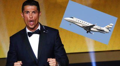 Καταστράφηκε το ιδιωτικό αεροπλάνο του Κριστιάνο Ρονάλντο!