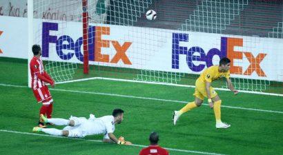 Ο ΑΠΟΕΛ κράτησε το 0-1 στο «Καραϊσκάκης» κόντρα στον άσφαιρο Ολυμπιακό